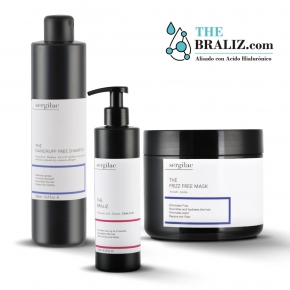 Lote The Braliz + The Dandruff Free Shampoo + The Frizz Free Mask