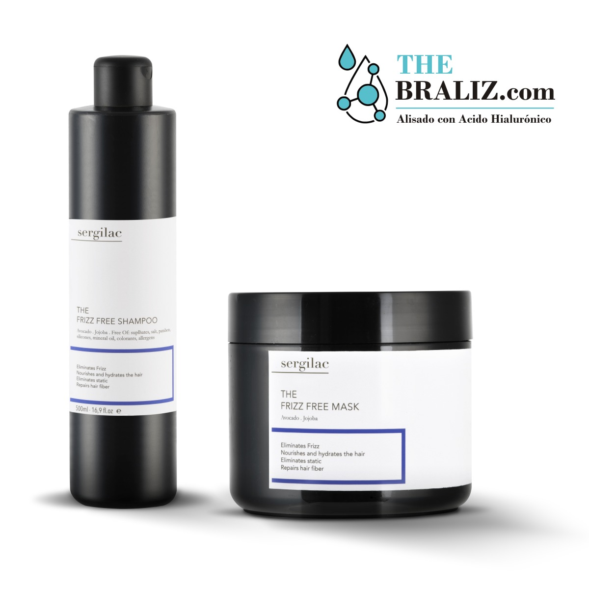 Lote The Frizz Free Shampoo + Mask